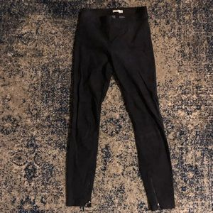 Lovely suede Vince pants only worn once!! Size xs